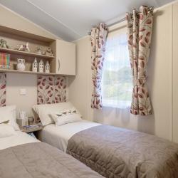 Willerby Brockenhurst Twin Bedroom