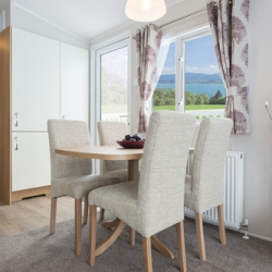 Willerby Sierra Dining Area