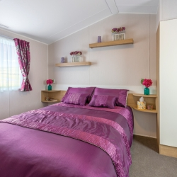 Willerby Vacation Master Bedroom